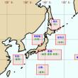 日本周辺の航海