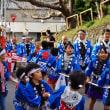 街を行く神輿 (五ケ所神社祭)