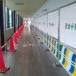 渡り廊下。
