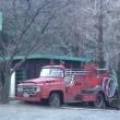 「奥多摩町で見かけた消防車」