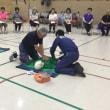 第5回 港区ノルディックウォーキング事業東京消防庁 救急講座