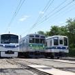 5月19日撮影 秩父鉄道 その2 電車の4並び