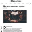「シグネチャー(Signature)」の未来について