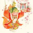 広島個展用の「春の舞」★