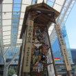 JR博多駅前の飾山笠