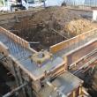 沼津市上香貫 重量鉄骨2.5階建住宅 基礎配筋検査を受けました。