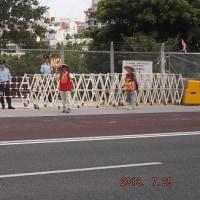 7/29の野嵩ゲート、まだ自主封鎖中