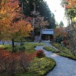 近江孤篷庵の紅葉
