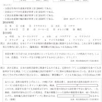 桜のテスト演習:地理 4 @6213
