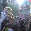 今日は横浜に行ってきました。あちこちで祭りやってたよ。
