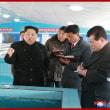 敬愛する最高指導者、金正恩同志が新たに建設された順天ナマズ工場を現地指導