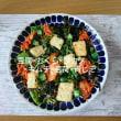 低糖質豆腐のサラダ