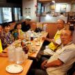 手賀沼ウオーキング教室・反省食事会と二次会