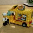 ★LEGO CITY #60150ピザトラックを6幅車から4幅車に!スリムにメタモルフォーゼww!!の巻