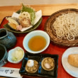 竹笛の天ざる蕎麦