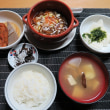 和定食「大根煮」・・・炊屋食堂の晩ごはん定食。