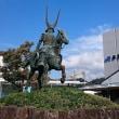 井伊直政公銅像/JR彦根駅西口