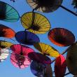チェンマイの雨傘