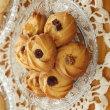 バニラのサブレ、オレンジのサブレ、絞り出しクッキー