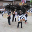 曽原かんこ踊り開催される