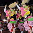 宗教的な「おわら風の盆」の踊りと娯楽的な阿波踊り