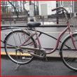 ★中古・リサイクル・ダイニチ・26インチ・U型ホームサイクル・内装3段ギヤ・ピンク