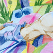 Nude-Muse-angel-Tableau-ヌード-芸術-アート-絵画:お戯れ