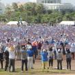 酷暑の中、「辺野古に新基地を造らせない県民大会」に4万5千人が集まった!---知事は「撤回を必ずやる」と宣言