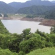 宮ケ瀬湖の貯水率が半分に!