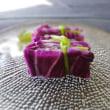紫白菜を漬けものにしたら( ^ω^)・・・