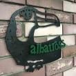 アルバトロス看板
