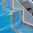 横浜市南区で鉄骨階段をペンキで塗り替えました(^^)/ぬりいち
