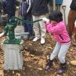 世田谷NPO法人せたがや水辺ネットワークの皆さんとやりとげました。井戸掘削完成  #井戸掘り #手押しポンプ