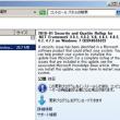 Windows7 にNET Framework のセキュリティロールアップ(KB4055532)、及び同プレビュー(KB4057270)が配信されていました。