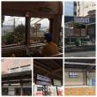 生駒から大和西大寺から筒井からのバス停にて