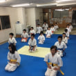ジュニアBクラス 1/18(木) 〆は拳手法