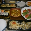 牡蠣ソテーと手作りスィートポテト(年賀状のお年玉)