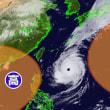 台風24号 週末は沖縄、週明けは九州・本州へ。上陸の恐れも  ウェザーニュース     沖縄は影響が長く続く