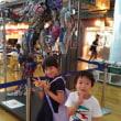 空港でトランスフォーマー