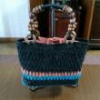 麻糸のバッグ