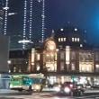 行幸通りから東京駅をみる!  丸ノ内イルミネーション