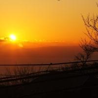 伊豆高原からの初日の出