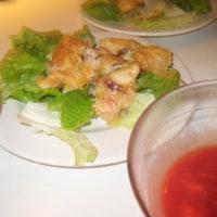 2009年11月5日(木) 夕食(鶏のから揚げ風など)