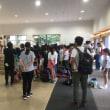 夏季学園 II 期 3日目 帰校式
