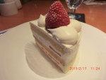 パテイスリーサツキのスーパー苺ショートケーキ(ホテルニューオータニ)   投稿者:佐渡の翼