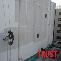 狭小地ビル 塗装工事