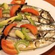 米騒動イベント「秋刀魚と米」の様子