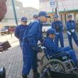 「神戸マラソン「第14救護所」!!「兵庫消防団」第六分団」!!