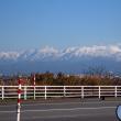 セローで冬の散歩