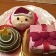 お安いクリスマスのケーキ